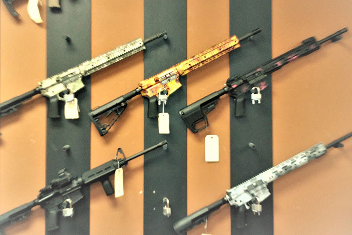 Signature Manufacturing sells a number of firearms, including assault rifles. Photo via Signature Manufacturing on Facebook.