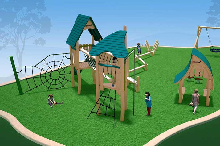New indoor play structure coming to Matt Ross Community Center in ...