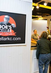 Joe's Cellar is now open in the Mission Road Antique Mall.