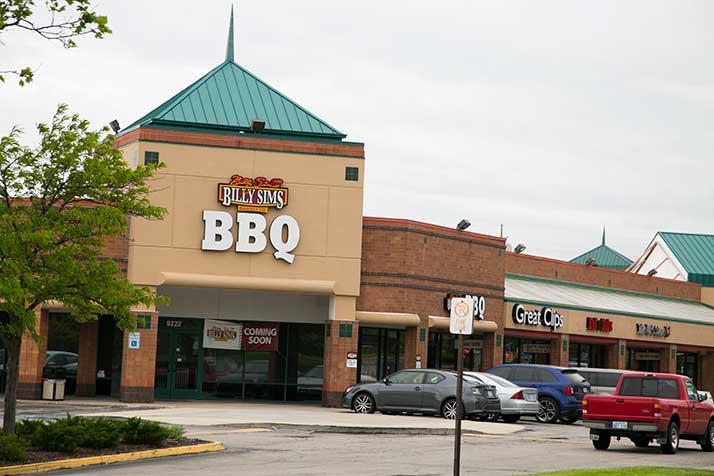 Billy Sims BBQ has closed just five months after opening at Overland Park's Regency Park center.