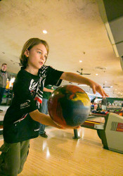Prairie Village resident and Trailwood Elementary student Henry Hind won the state bowling tournament for his age group last month.