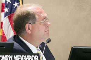 Shawnee Mission at-large board member Brad Stratton.