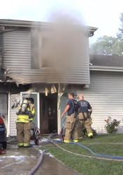 Video still via Overland Park Fire Department.