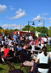 The event will begin Friday, August 25 with a food truck festival on the site of the Farm and Flower Market. (Photo via city of Mission).