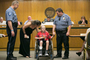 "Alex Goodwin issued his proclamation that Friday, June 23 will be ""Big Monster Friday"" in Mission."