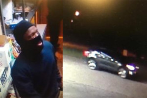 Overland Park Police are looking for the one of three men associated with an early morning burglary.