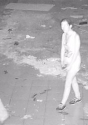 A security camera image of the three suspects.