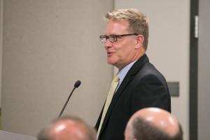 Stuart Little, the district's lobbyist.