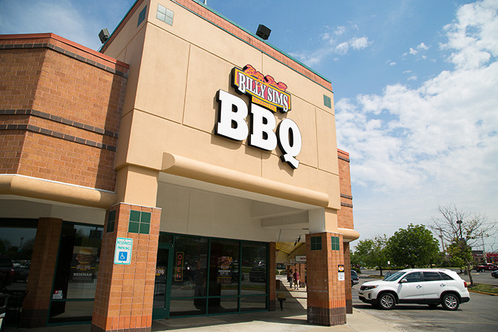 The new Billy Simms BBQ location at 9222 Metcalf in Overland Park.