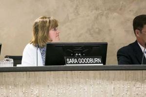 Sara Goodburn.