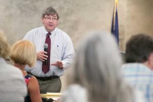 Mark Tallman of the Kansas Association of School Boards.