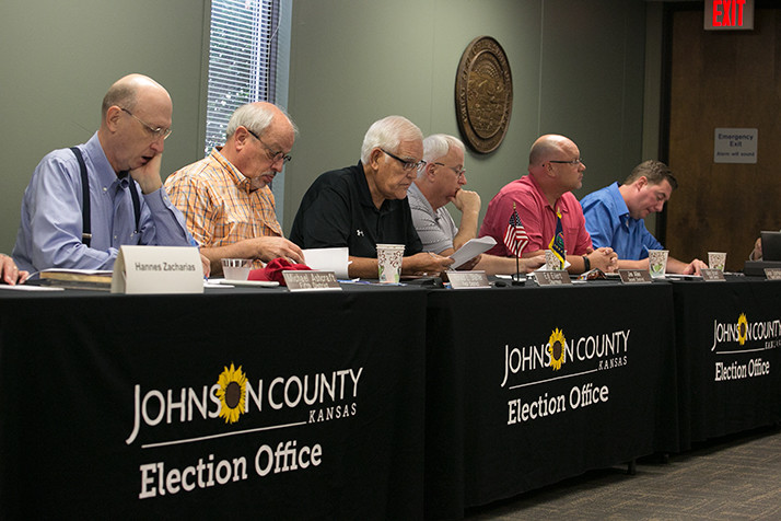 The canvass board reviewed the results of Tuesday's elections before voting to approved the final count Monday.