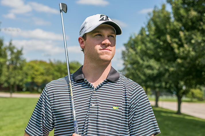 "Connor Knabe says being a pro golfer has ""kind of been a dream of mine my whole life."""