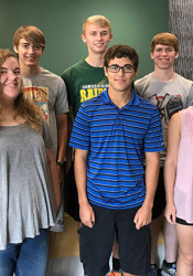 SM South led the district with eight National Merit Semifinalists. Photo via Todd Dain on Twitter.