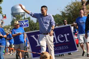 Kevin Yoder At This Fallu0027s Parade In Downtown Overland Park. Photo By Andrew