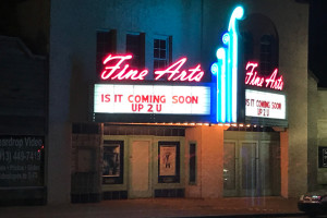 A deal approved by the Shawnee City Council Monday could see the dormant Aztec Theater return to life. Photo by Jerry LaMartina.