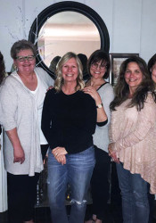 The Prairie Village chapter of Dining for Women meets each month for a meal and discussion about the organization's global grantees.