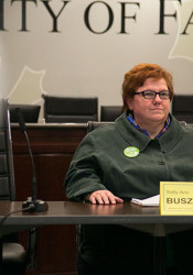 City council candidate Kelly-Ann Buszek.