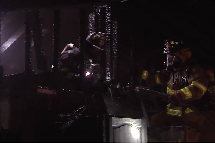 Video still courtesy OPFD.