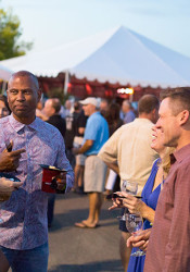 A Taste of Leawood is held each year at Town Center Plaza.