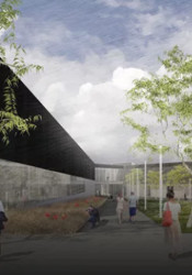 A rendering of part of the coming JCCC renovations.