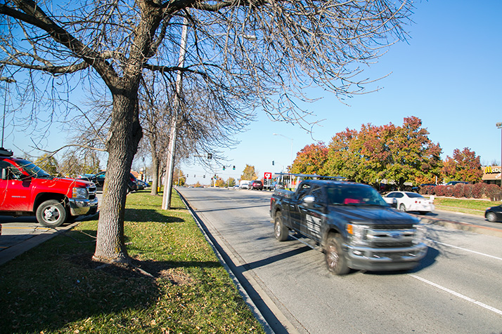 Roeland Park hopes to begin construction on the renovation of Roe Blvd. in 2020.
