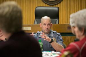 Mission Police Chief Ben Hadley.