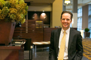 Ed O'Malley at the Overland Park Sheraton this week.