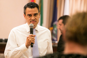 Rep. Kevin Yoder gave only tepid support to Donald Trump in the 2016 election, but he's voted with the president 94.3 percent of the time, according to FiveThirtyEight.