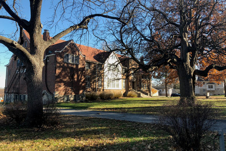 Under the Edison proposal, the original part of Overland Park Presbyterian Church would remain intact, though the sanctuary would be torn down.