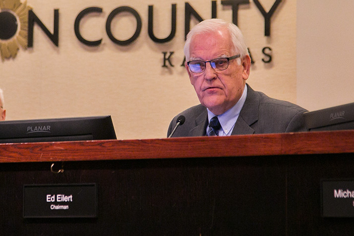 County Commission Chair Ed Eilert said the process for finding a replacement for Hannes Zacharias may be complicated by the fact that four of the sitting commissioners are up for reelection next year.