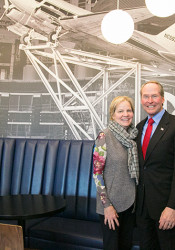 Jim Barnett and his wife Rosie have been traveling across the state as the former state senator looks to again become the Republican nominee for governor.