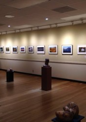 The Tim Murphy Art Gallery at the Irene B. French Community Center. (Photo via Facebook).