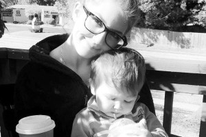 Liz Richards and her son Jay. Richards was shot and killed over the weekend.