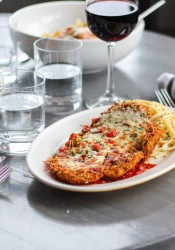 The Chicken Parmigiana at Urban Table.