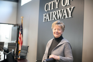 New Fairway Mayor Melanie Hepperly said stormwater and the future of the Shawnee Indian Mission are at the top of her agenda.