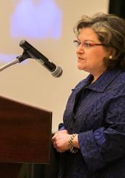 Westwood Hills Mayor Paula Schwach.