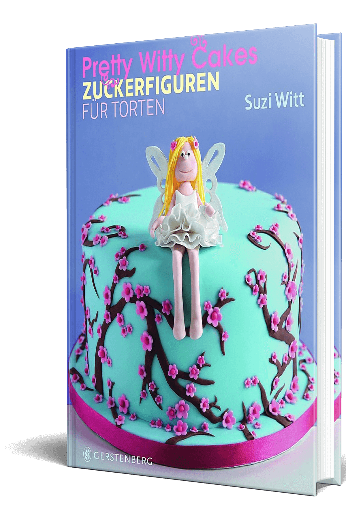 Pretty Witty Cakes German edition of Suzi Witt's book