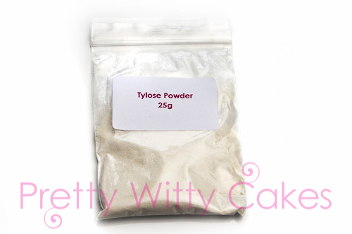 What is Tylose Powder at Pretty Witty Cakes