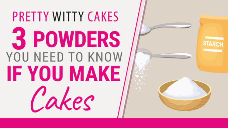 3 cake powders you need to know when cake decorating