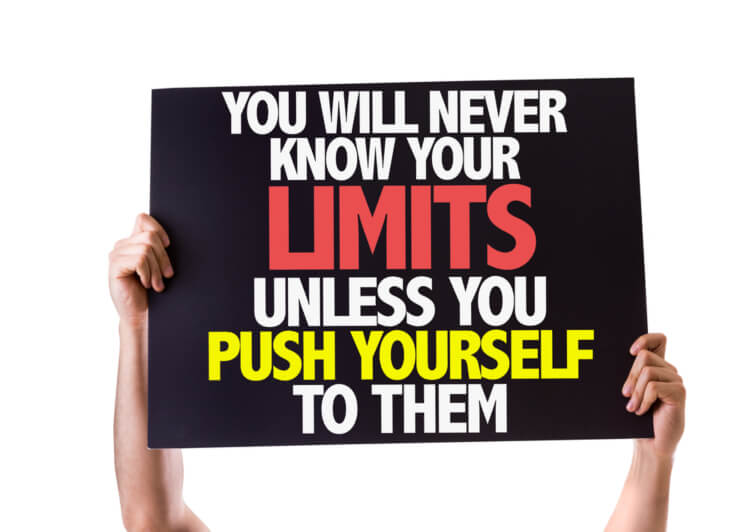 Push yourself to gain more confidence