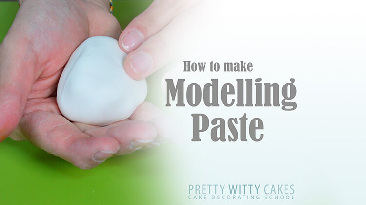 How to make modelling paste at Pretty Witty Academy