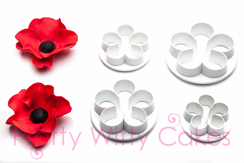 5 Petal flower cutter at Pretty Witty CAkes