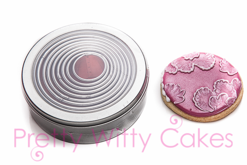 Circular cutter set at Pretty Witty Cakes