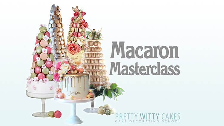 How to make macarons tutorial at Pretty Witty Academy