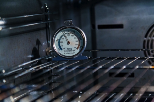 Make sure your oven is the right temperature