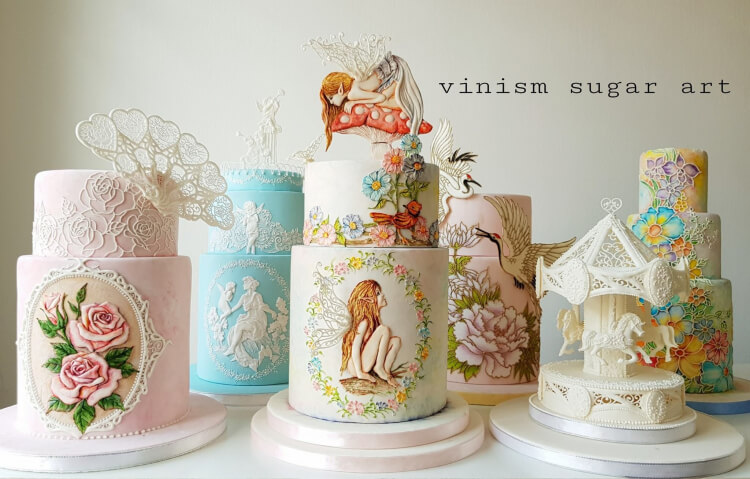 Kelvin Chua Cakes, What is Royal Icing at Pretty Witty CAkes