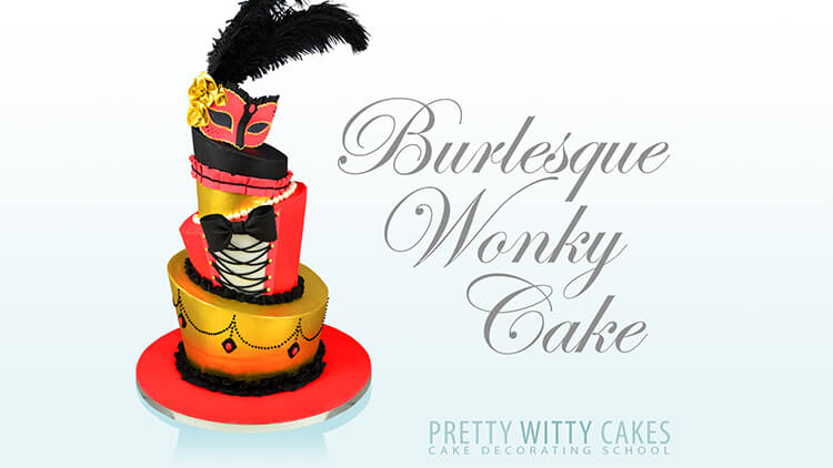 How do i make a burlesque Wonky Cake