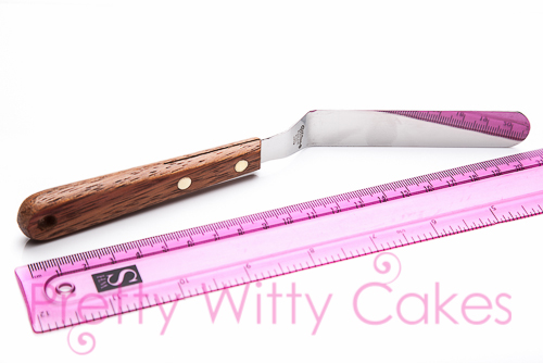 Cranked Palette Knife At Pretty Witty Cakes