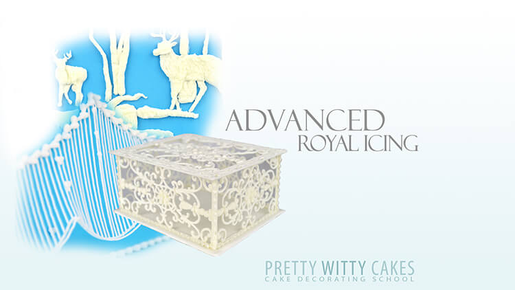 Advanced royal icing course at Pretty Witty Academy